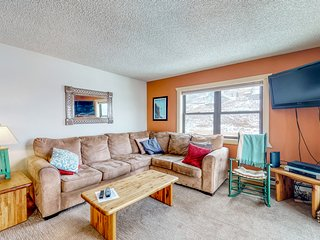 Mountain view condo - walk to Crested Butte Mtn Resort!