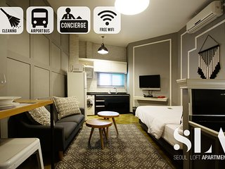 ★SLA★ 01. Stylish Studio Apt | DDP | SNUH | SKKU | Monthly rentals available