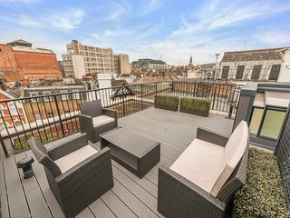 Delightful 1BR penthouse apartment with terrace 5mins from Leicester square