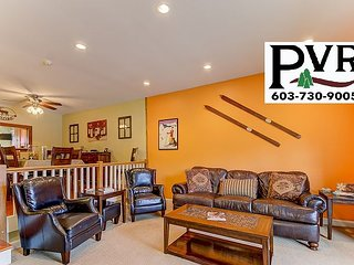 Immaculate 4BR Condo w/ Cranmore View! AC, Games, Cable & WiFi!