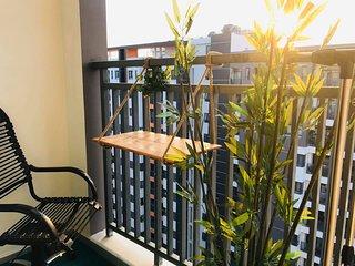 Enjoy 16th Floor | 2BR| Sunset at COZY RUBY CONDO| Near Central HCM City