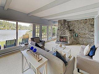 Grandpa's Lake House | Waterfront Retreat with Lake Views & Private Hot Tub