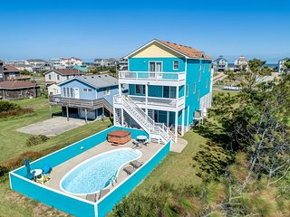 Peace Place | 345 ft from the beach | Private Pool, Hot Tub | Nags Head