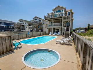 All Seasons | Oceanfront | Private Pool, Hot Tub | Nags Head