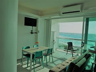 CLUB ZONE BEACHFRONT APARTMENT IN OCEAN DREAM RESORT (GIRASOL) 2 POOLS, BEACH