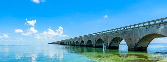 World famous 7 mile bridge!