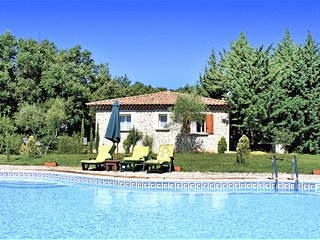Beautiful home in St. Marcel de Careiret with Outdoor swimming pool, WiFi and Ou