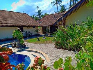 Beach front Villa Ganesha Located Banjar Beach North Bali Bhv