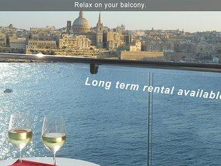 6* Your Sea Views - 3 bedroom Aptartment Malta