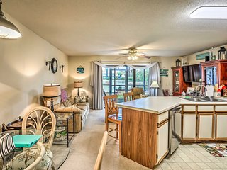 NEW! Golf Colony Condo w/ Pool - 4 Miles to Beach!