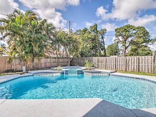 NEW! Event-Friendly Home: Relax/Entertain Poolside