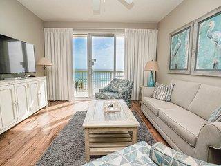 Calypso Beach Resort Rental 302E | Walk to Pier Park | Beachfront Condo