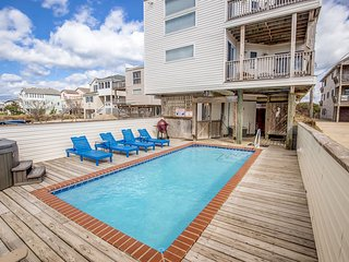 Sol Mate | 75 ft from the beach | Private Pool, Hot Tub | Nags Head