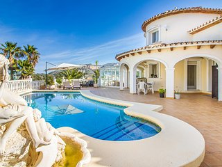 Stunning home in Muntanya de la Sella with Sauna, Outdoor swimming pool and 3 Be