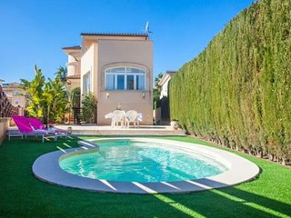 Geschmackvolle Villa mit Pool in Colonia Sant Jordi Nahe Es Trenc Strand