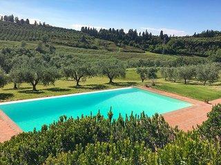 Gezellig landhuis in de heuvels van Chianti (ITF296)