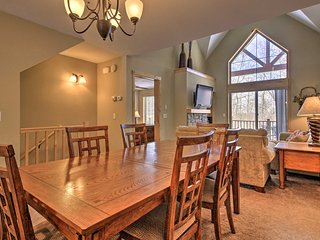 Cabin on Lake w/Deck + Forest Views <2 Mi to Golf!