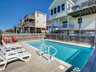 Fay's Sunny Daze | 369 ft from the Beach | Private Pool, Hot Tub | Nags Head