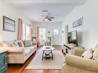 Beautiful home w/ outdoor entertaining area - just one block from the beach!