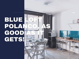 Blue Loft In Polanco With Private Terrace