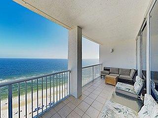 2 Balconies w/ Gulf Views! Island Tower 3BR Corner Condo w/ Infinity Pool