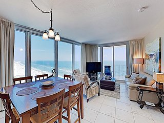 2 Balconies w/ Gulf Views! Island Tower Corner Condo w/ Infinity Pool