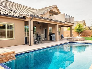 Beautiful Home with Private Pool near Zion National Park & Sand Hollow