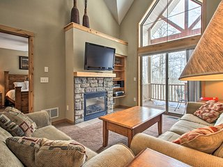 Quiet Cabin w/ Fireplace and Rugged Forest Views!