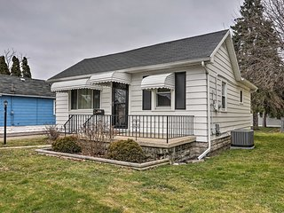 NEW! Cozy Toledo Home w/ Fire Pit, Steps to Water!