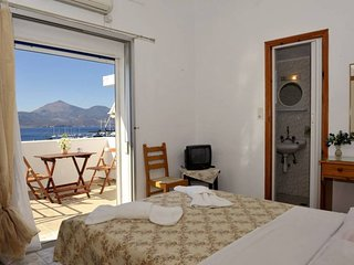 Double Room with Sea View 01 in Soulis Studios - Accommodation near Town Center