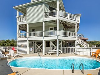 Anchors Away | 650 ft from the beach | Private Pool, Hot Tub | Corolla