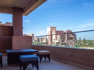 3061. MARRAKECH 2BR FLAT WITH POOL VIEW AND GOLF!