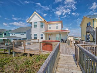 S. Shore Drive 204 Oceanfront! | Hot Tub, Internet