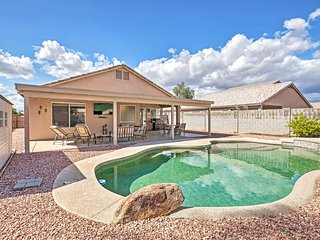 NEW! Retreat w/ Pool: 1.7 Mi From Surprise Stadium