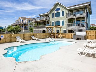 Legacy | 980 ft from the beach | Dog Friendly, Private Pool, Hot Tub | Corolla