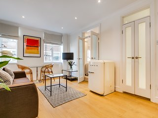 Perfect1BR serviced flat Sloane Ave Chelsea zone 1