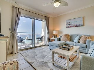 Crystal Dunes 505 ~ stunning beachfront vacation condo with Beach Service