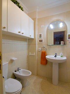 Vista del cuarto de baño.