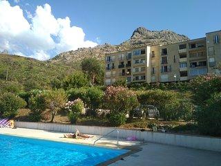Location entre mer et montagne à Calenzana Haute Corse