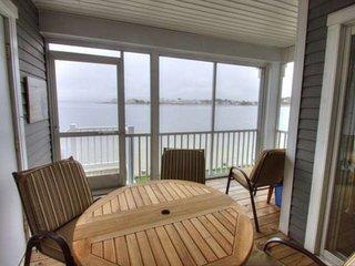 Spectacular Bay Views, Pools, Tennis, Kayaks, Ground Floor 2BR 2BA Condo  With M