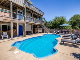 Beacon's Watch | 1800 ft from the Beach | Dog Friendly, Private Pool, Hot Tub |