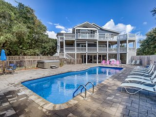 Lucy's Place | 1030 ft from the beach | Private Pool, Hot Tub | Southern Shores