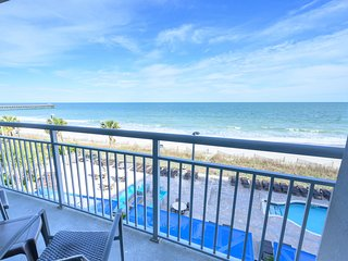 ⭐Direct Oceanfront.Low Floor.Modern Building.New Appliances. Modern/Honeymoon