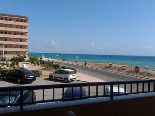 kleines Apartment direkt am Meer, Costa Blanca,La Mata, Torrevieja, Alicante