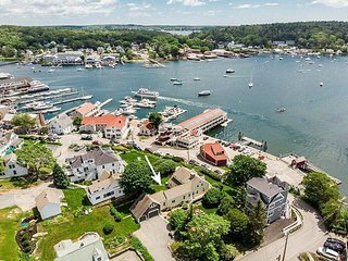New Listing! All-Suite Boothbay Harbor Home w/ Deck, Water Views & Fireplaces