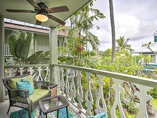 NEW! Tropical Kailua-Kona Escape - Steps to Beach!