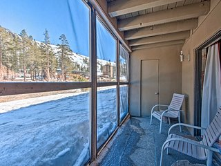 NEW! Cozy Condo, Walk to Ski Lifts and Village!