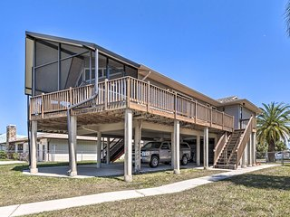 NEW! Hernando Beach Stilt House w/ Private Dock!