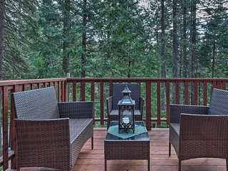 NEW! Woodland Cabin - 4 Mi to Big Tree State Park!
