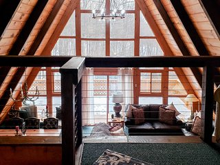 Secluded Gaylord Ski Chalet w/Sauna-Mins to Slopes